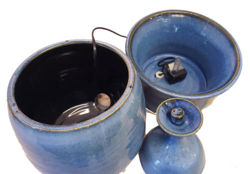 """Blue Rain"" Indoor Spray Fountain - Image 3"