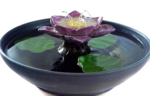 """""""Lotus Spray"""" - Spray Fountain With Streams - $230"""